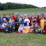 The Cleftlands Battle Unit gathered at the Pennsic War,  August 2016.